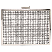 Buy Carvela Destiny Clutch Bag, Silver Online at johnlewis.com