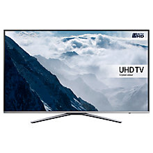 "Buy Samsung UE49KU6400U LED 4K Ultra HD Smart TV, 49"" with Freeview HD and Built-In Wi-Fi +  Wireless Sound Bar & Subwoofer, Black Online at johnlewis.com"