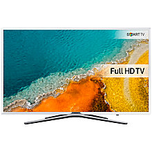 "Buy Samsung UE40K5510 LED Full HD 1080p Smart TV, 40"" with Freeview HD and Built-In Wi-Fi, White Online at johnlewis.com"