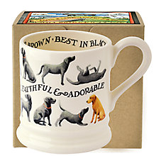 Buy Emma Bridgewater Year In The Country All Over Labrador Half Pint Mug Online at johnlewis.com