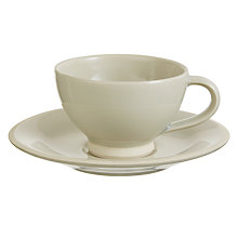 Buy John Lewis Croft Collection Amberley Teacup and Saucer Online at johnlewis.com