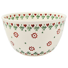 Buy Emma Bridgewater Joy Robin Pudding Basin Bowl Online at johnlewis.com