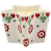Buy Emma Bridgewater Joy Star Candle Online at johnlewis.com