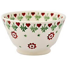 Buy Emma Bridgewater Joy Star Cereal Bowl Online at johnlewis.com