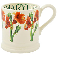 Buy Emma Bridgewater Year In The Country Amarylis Half Pint Mug Online at johnlewis.com