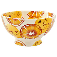 Buy Emma Bridgewater Black Toast 'Oranges' French Bowl Online at johnlewis.com