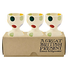 Buy Emma Bridgewater Polka Egg Cups, Set of 3 Online at johnlewis.com