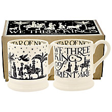 Buy Emma Bridgewater Christmas Joy We Three Kings Half Pint Mugs, Set of 2 Online at johnlewis.com