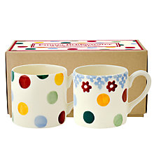 Buy Emma Bridgewater Polka Dot Espresso Mugs, Set of 2 Online at johnlewis.com