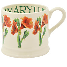 Buy Emma Bridgewater Year In The Country Amarylis Baby Mug Online at johnlewis.com