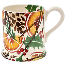 Buy Emma Bridgewater Holly Wreath 1/2pt Mug Online at johnlewis.com
