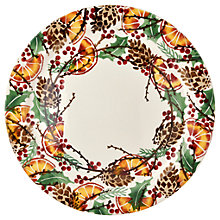 Buy Emma Bridgewater Holly Wreath 33.5cm Cake Plate Online at johnlewis.com