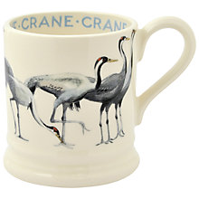 Buy Emma Bridgewater Year In The Country Crane Half Pint Mug Online at johnlewis.com
