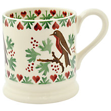 Buy Emma Bridgewater Christmas Joy Robin 1/2pt Mug Online at johnlewis.com
