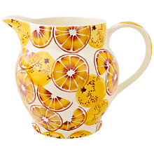 Buy Emma Bridgewater Black Toast 'Oranges' 6 Pint Jug Online at johnlewis.com