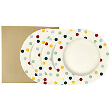 "Buy Emma Bridgewater Polka 10.5"" Plates, Set of 4, Boxed Online at johnlewis.com"