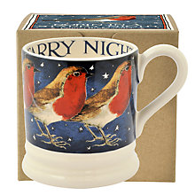 Buy Emma Bridgewater Robin In A Starry Night Mug Online at johnlewis.com