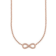 Buy Thomas Sabo Glam & Soul Infinity Pave Necklace Online at johnlewis.com