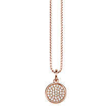 Buy Thomas Sabo Glam & Soul Sparkling Circles Necklace Online at johnlewis.com