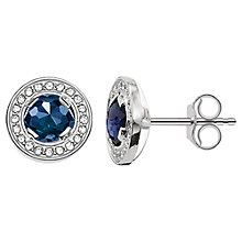 Buy Thomas Sabo Light of Luna Round Stud Earrings Online at johnlewis.com