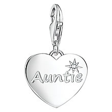 Buy Thomas Sabo Charm Club Auntie Charm, Silver Online at johnlewis.com