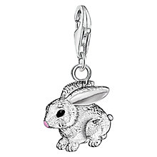Buy Thomas Sabo Charm Club Rabbit Charm, Silver Online at johnlewis.com