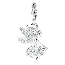 Buy Thomas Sabo Charm Club Fairy Charm, Silver Online at johnlewis.com