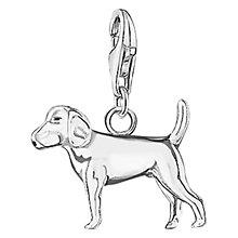Buy Thomas Sabo Charm Club Dog Charm, Silver Online at johnlewis.com