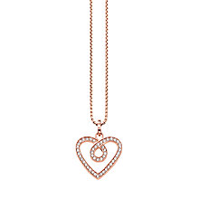 Buy Thomas Sabo Glam & Soul Infinity Heart Necklace Online at johnlewis.com