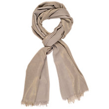 Buy Chesca Metallic Printed Scarf Online at johnlewis.com