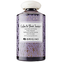 Buy Origins Calm To Your Senses Lavender & Vanilla Body Cleanser, 200ml Online at johnlewis.com