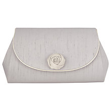 Buy Jacques Vert Rose Trim Clutch Bag Online at johnlewis.com