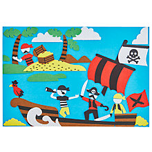 Buy John Lewis Fuzzy Felt Pirate Online at johnlewis.com