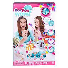 Buy Pom Pom Wow Ultimate Variety Pack Online at johnlewis.com