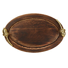 Buy John Lewis Ruskin House Wooden Acorn Tray Online at johnlewis.com