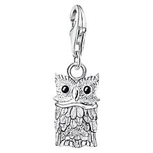Buy Thomas Sabo Charm Club Owl Charm, Silver Online at johnlewis.com