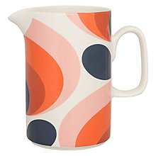 Buy Orla Kiely 70s Flower Pitcher Online at johnlewis.com