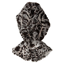 Buy John Lewis Faux Fur Tippet, Animal Print Online at johnlewis.com