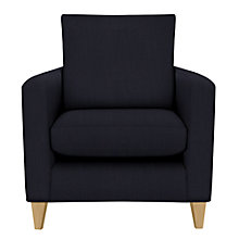 Buy John Lewis Bailey Armchair, Brompton Midnight Online at johnlewis.com