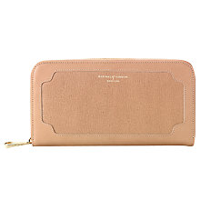 Buy Aspinal of London Marylebone Leather Purse Online at johnlewis.com