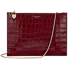 Buy Aspinal of London Soho Leather Pouch Online at johnlewis.com