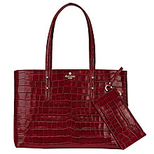 Buy Aspinal of London Regent Leather Tote Bag Online at johnlewis.com