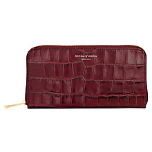 Buy Aspinal of London Leather Continential Clutch Purse Online at johnlewis.com