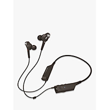 Buy Audio-Technica ATH-ANC40BT QuietPoint Bluetooth Active Noise-Cancelling In-Ear Headphones With Protective Pouch Online at johnlewis.com