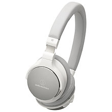 Buy Audio-Technica ATH-SR5BT High Resolution Bluetooth NFC On-Ear Headphones Online at johnlewis.com