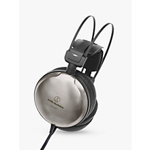 Buy Audio-Technica ATH-A2000Z Art Monitor Closed-Back Dynamic Over-Ear Headphones, Titanium Silver Online at johnlewis.com