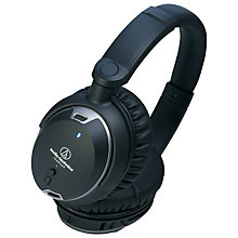 Buy Audio-Technica ATH-ANC9 QuietPoint Noise-Cancelling Over-Ear Headphones, Black Online at johnlewis.com