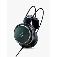 Buy Audio-Technica ATH-A990Z Art Monitor Over-Ear Closed-Back Dynamic Headphones, Green Online at johnlewis.com