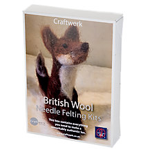 Buy Craftwerk Fox Needle Felting Kit Online at johnlewis.com