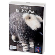 Buy Craftwerk The Herdwick Sheep Needle Felting Kit Online at johnlewis.com